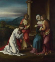 Commiato Di Cristo Dalla Madre