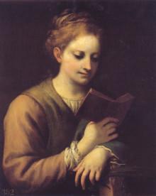 Santa Caterina Leggente