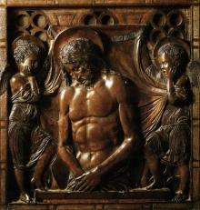 Cristo Morto Tra Angeli
