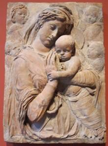 Madonna Col Bambino E Quattro Cherubini