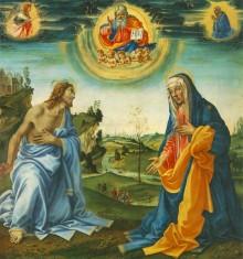 Apparizione Di Cristo Alla Madonna