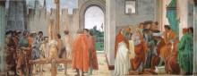 Disputa di Simon Mago e Crocifissione di San Pietro