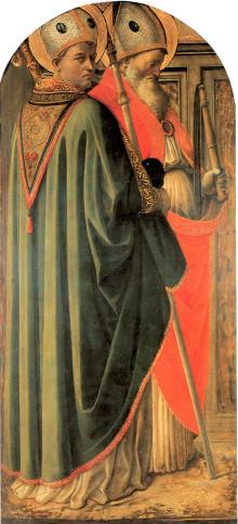 Dottori Della Chiesa Agostino E Ambrogio