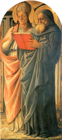 Dottori Della Chiesa Gregorio E Girolamo