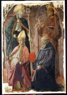 Santi Agostino, Francesco, Benedetto e un Vescovo