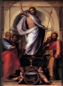 Salvator Mundi Con I Quattro Evangelisti