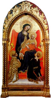 Madonna In Trono Col Bambino Tra I Santi Lorenzo E Giuliano