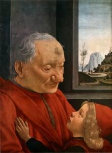 Ritratto Di Vecchio Con Nipote