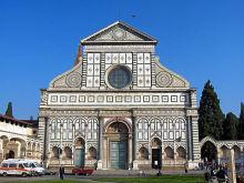 Facciata della Basilica di Santa Maria Novella