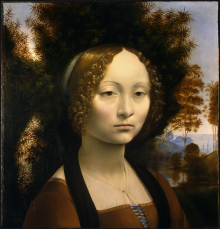 Ritratto Di Ginevra De' Benci