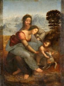 Sant'Anna, La Vergine E Il Bambino Con L'agnellino