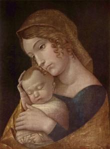 Madonna Col Bambino Dormiente