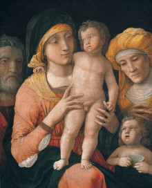 Sacra Famiglia Con I Santi Elisabetta E Giovanni Battista