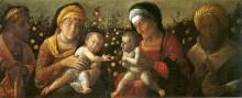 Sacra Famiglia E Famiglia Del Battista