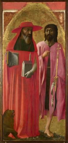 Santi Girolamo E Giovanni Battista