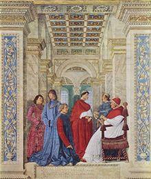 Sisto IV nomina il Platina Prefetto della Biblioteca Vaticana