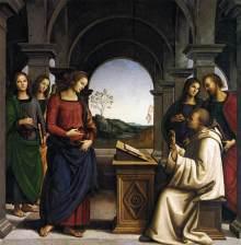 Apparizione Della Vergine A San Bernardo