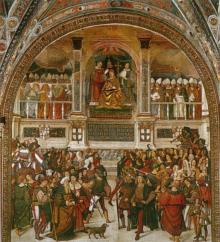 Incoronazione Di Pio III