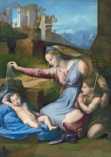 Madonna Del Diadema Blu