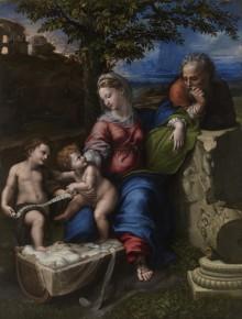 Sacra Famiglia Sotto La Quercia