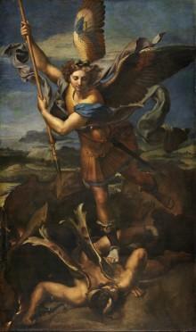 San Michele Sconfigge Satana